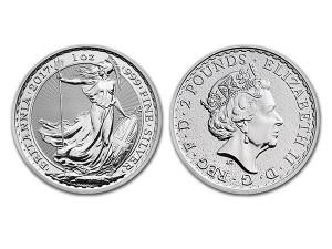 2017大不列顛銀幣1盎司