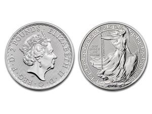 2018大不列顛銀幣1盎司(東方版)
