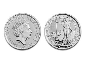 2018大不列顛銀幣1盎司