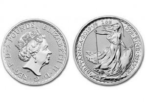 2019大不列顛銀幣1盎司