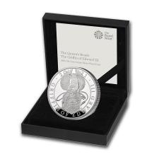 2021英國格里芬獅鷲銀幣1盎司精鑄版