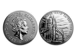 2018英國地標倫敦塔橋銀幣1盎司