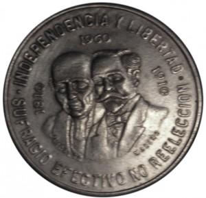 1960墨西哥獨立戰爭一百五十周年珍藏幣
