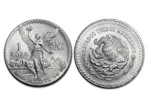 1982墨西哥獨立天使銀幣1盎司