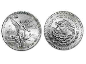 1983墨西哥獨立天使銀幣1盎司