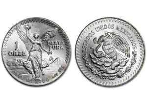 1985墨西哥獨立天使銀幣1盎司