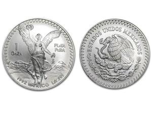 1992墨西哥獨立天使銀幣1盎司