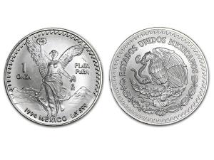 1994墨西哥獨立天使銀幣1盎司