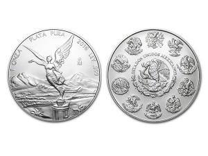 2016墨西哥獨立天使銀幣1盎司