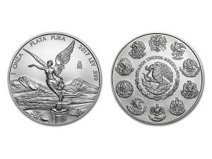2017墨西哥獨立天使銀幣1盎司