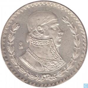1966墨西哥銀幣1披索