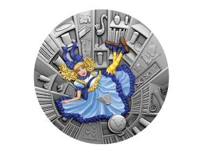 2021紐埃藍色童話銀幣1盎司