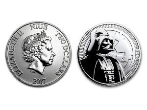 2017星際大戰黑武士銀幣1盎司