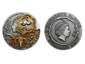 2021紐埃愛神美狄亞銀幣2盎司