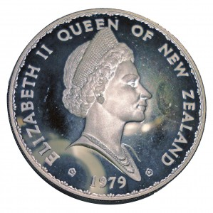 1979紐西蘭銀幣一元