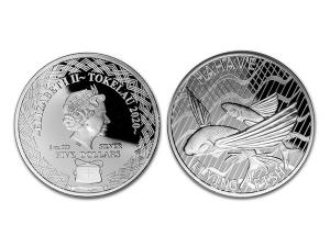 2020托克勞飛魚銀幣1盎司