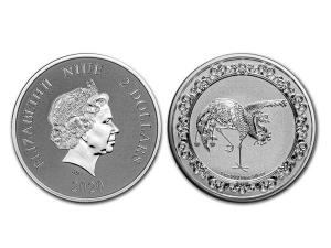 2020紐埃神獸朱雀銀幣1盎司