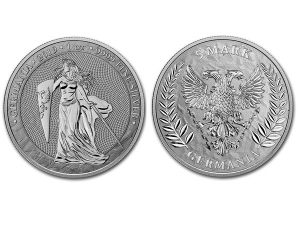 2019日耳曼銀幣1盎司