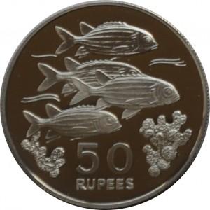 1978塞席爾自然保護系列珍藏幣