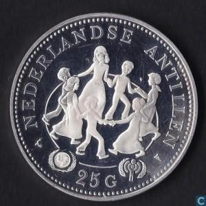 1979荷屬安地列斯國際孩童年珍藏幣