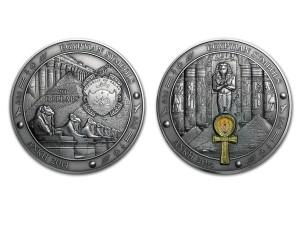2014帛琉埃及符號-安卡銀幣3盎司