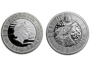 2018開曼群島馬林魚銀幣1盎司