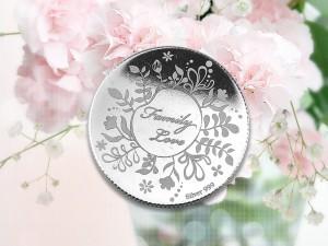 母親節感恩銀幣 3.5錢 (美滿家庭)