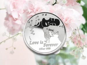 母親節感恩銀幣 3.5錢 (永恆的愛)