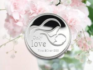 母親節感恩銀幣 3.5錢 (一生摯愛)