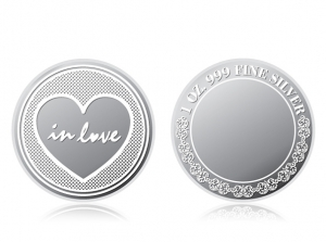 感恩銀幣1盎司 (珍愛於心)