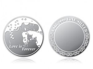 母親節感恩銀幣1盎司 (永恆的愛)