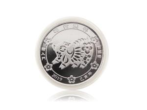2019福豬紀念銀幣1盎司