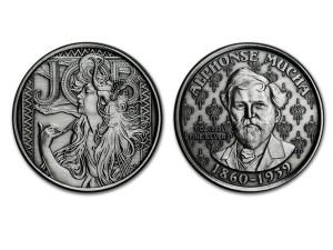 慕夏仿古銀幣1盎司(JOB)