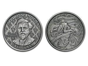 慕夏仿古銀幣1盎司(DANCE)