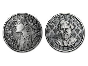 慕夏仿古銀幣1盎司(LAUREL)