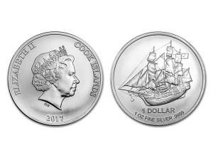 2017庫克群島1盎司銀幣(限量版)
