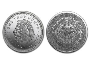 阿茲特克曆法銀章1盎司