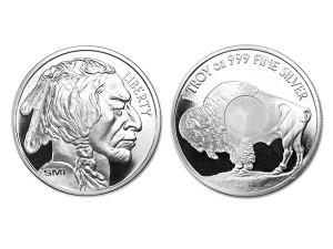 美國水牛銀幣1盎司(V2)