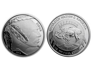 2016美國水牛銀幣1盎司