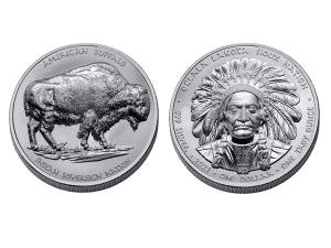 2021美國蘇族水牛銀幣1盎司