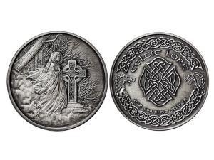 凱特爾仿古銀章5盎司-報喪女妖Banshee
