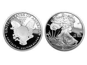 美國鷹揚銀幣1盎司(SI)