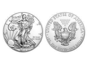 2016美國鷹揚銀幣1盎司