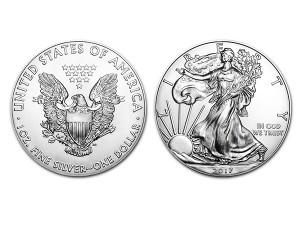 2017美國鷹揚銀幣1盎司