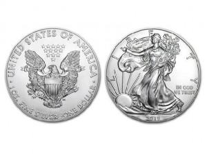 2019美國鷹揚銀幣1盎司