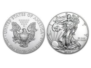2020美國鷹揚銀幣1盎司