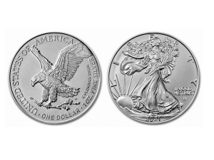 2021美國鷹揚銀幣1盎司(第二版)