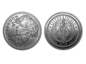 2018自由女孩銀幣1盎司
