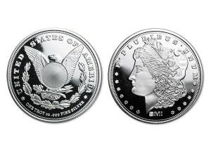 美國摩根銀幣1盎司(V2)