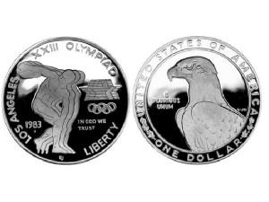 1983美國奧運珍藏幣
